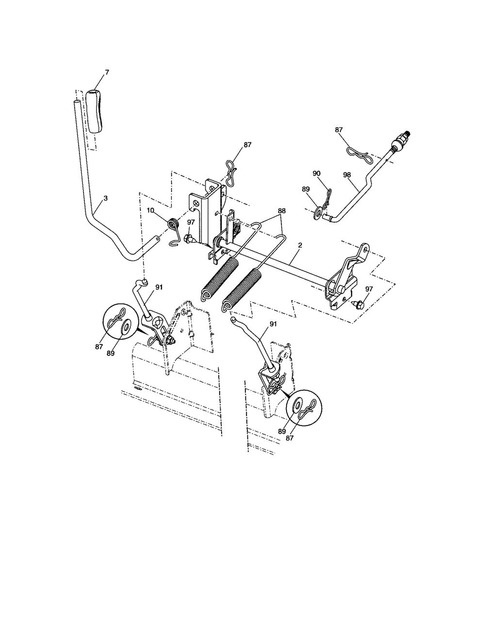medium resolution of craftsman tractor parts model 917287300 sears partsdirect