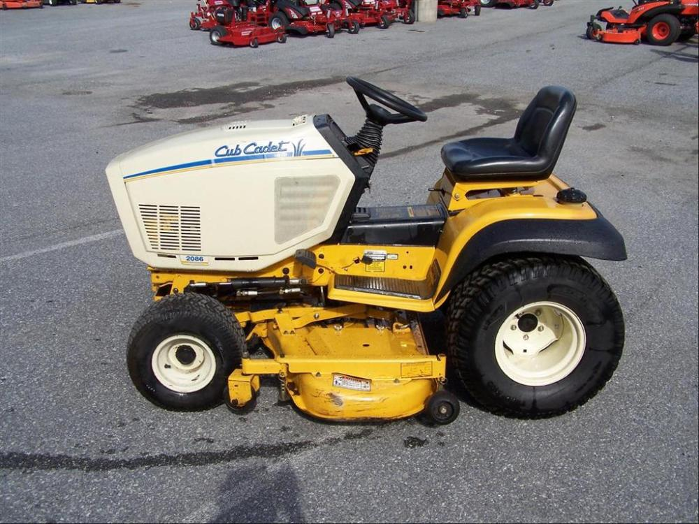 medium resolution of used cub cadet 2086