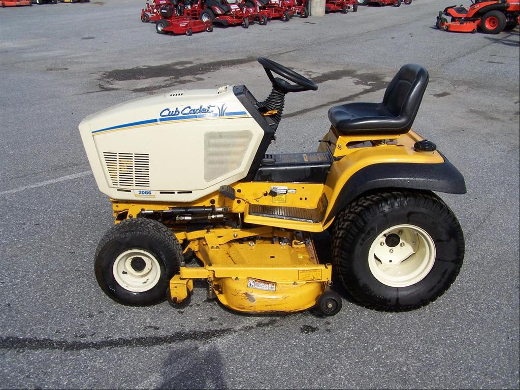 hight resolution of used cub cadet 2086