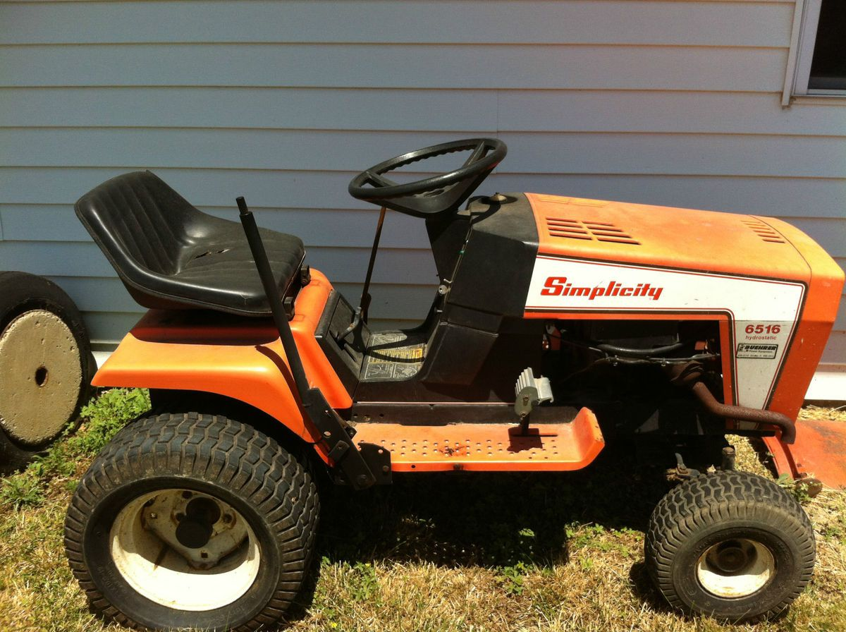hight resolution of simplicity lawn tractor 6516