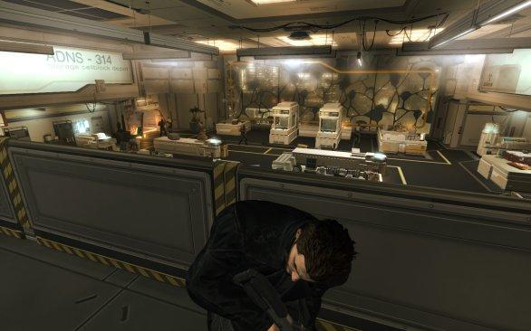 Deus Ex Human Revolution PC gameplay screenshot