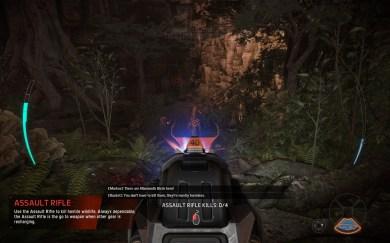 Evolve Beta PC gameplay screenshot