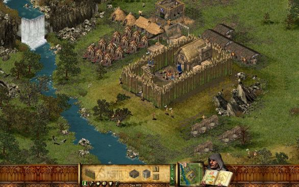 Stronghold HD PC gameplay screenshot