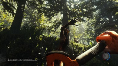 The Forest PC gameplay screenshot