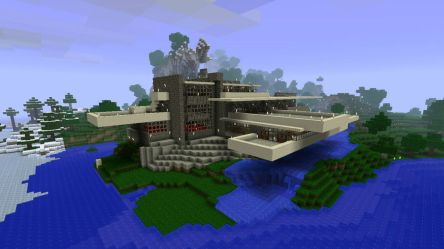 minecraft builds fallingwater cool game build wright lloyd frank crazy popular water falling ever building late creation why most ten