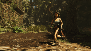 Shadow of the Tomb Raider lets you unlock a 'low poly' Lara Croft model