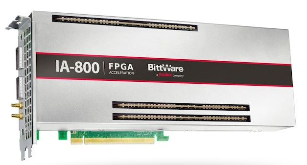 Bittware 4x100G FPGA Card, Uses Intel 10nm Agilex and oneAPI