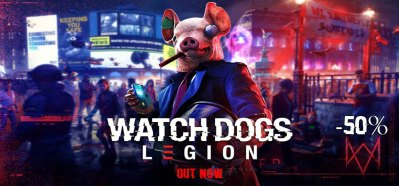 WatchDogs Legion 50% Off
