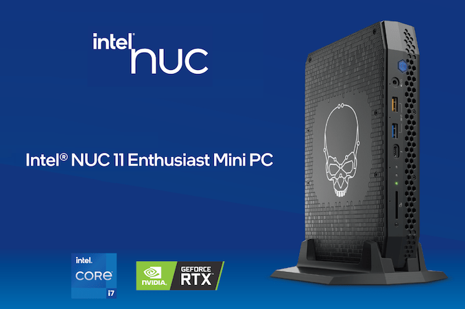 Intel Announces Phantom Canyon: Tiger Lake and Turing Tango in 3rd Gen Enthusiast NUC