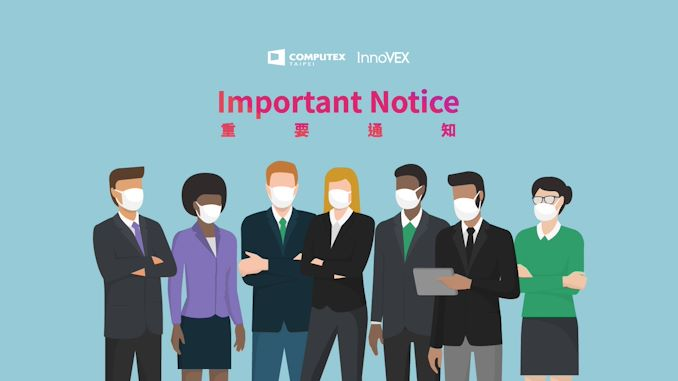 Computex 2021 Physical Show Cancelled; Virtual Event Still Taking Place