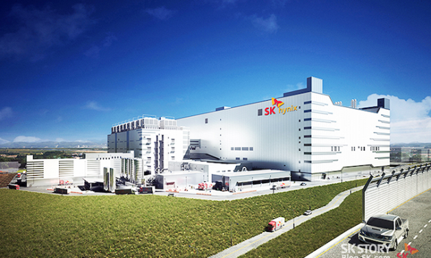 SK Hynix to Build $106 Billion Fab Cluster: 800,000 Wafer Starts a Month