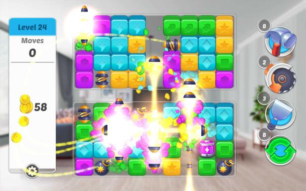 Home Designer Makeover Blast-RAZOR - Ocean of Games