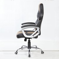 BTM HIGH BACK EXECUTIVE OFFICE RACING GAME CHAIR LEATHER ...