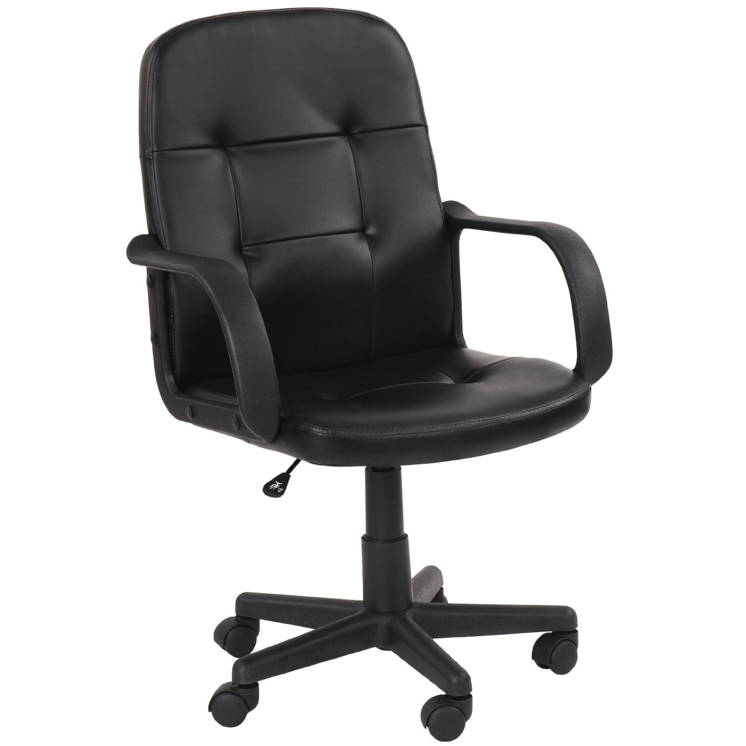 office chair ratings 2016 fishing for dock miadomodo swivel black ergonomic height