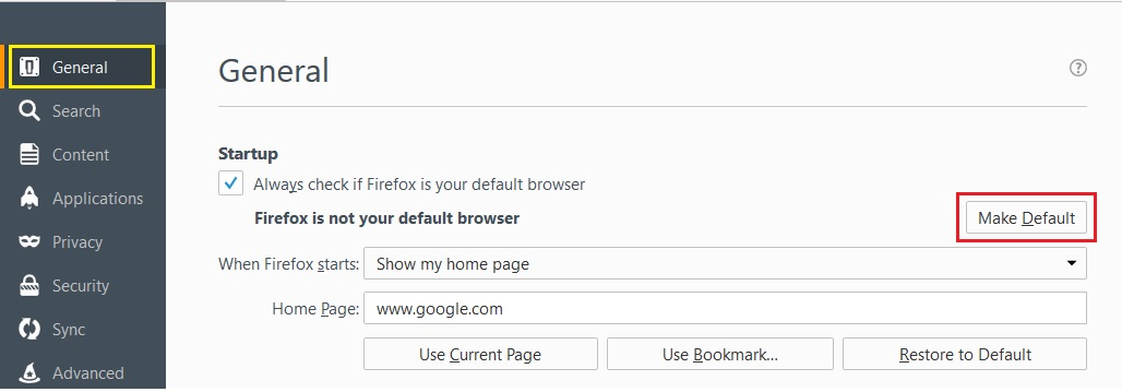 how to change the default download location cm browser
