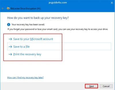 pen drive password protection software