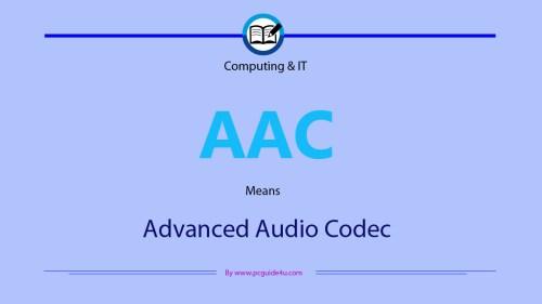 Advanced Audio Codec