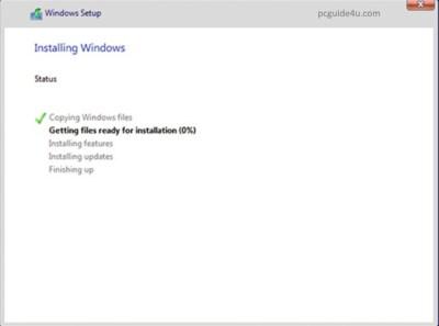 install windows 10 using usb flash drive
