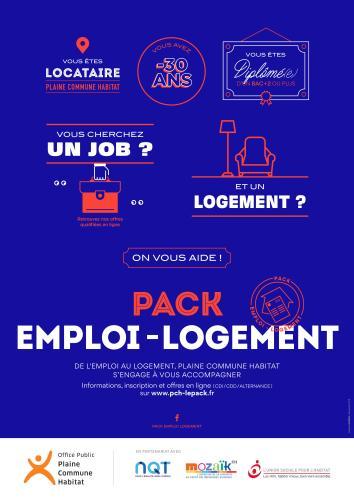 illustration pack-emploi logement