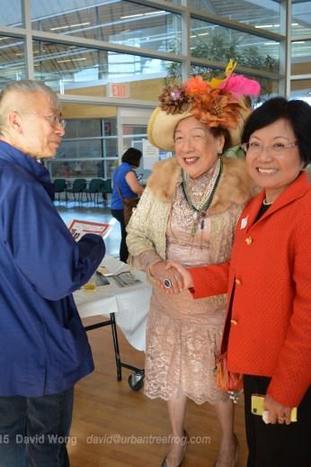 Jim Wong-Chu, Faye Leung, and Winnie Cheung
