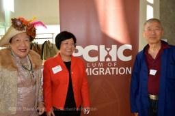Faye Leung, Winnie Cheung, and Jim Wong-Chu