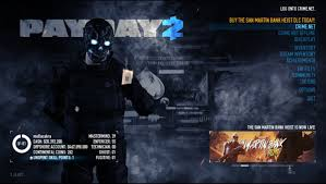 PAYDAY 2 Ultimate Edition v1.91.619 Crack Codex Free Download