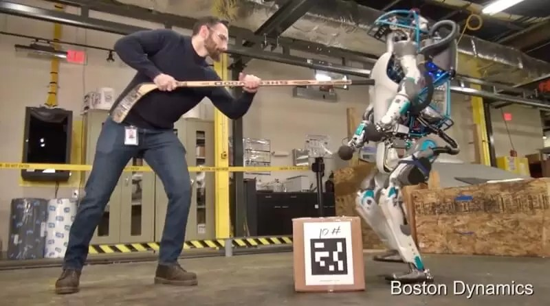 Boston Dynamics'in Atlas Robotu Seviye Atladı