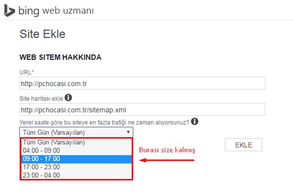 Yahoo Ve Bing Site Ekleme Işlemi Nasıl Yapılır Pc Hocası