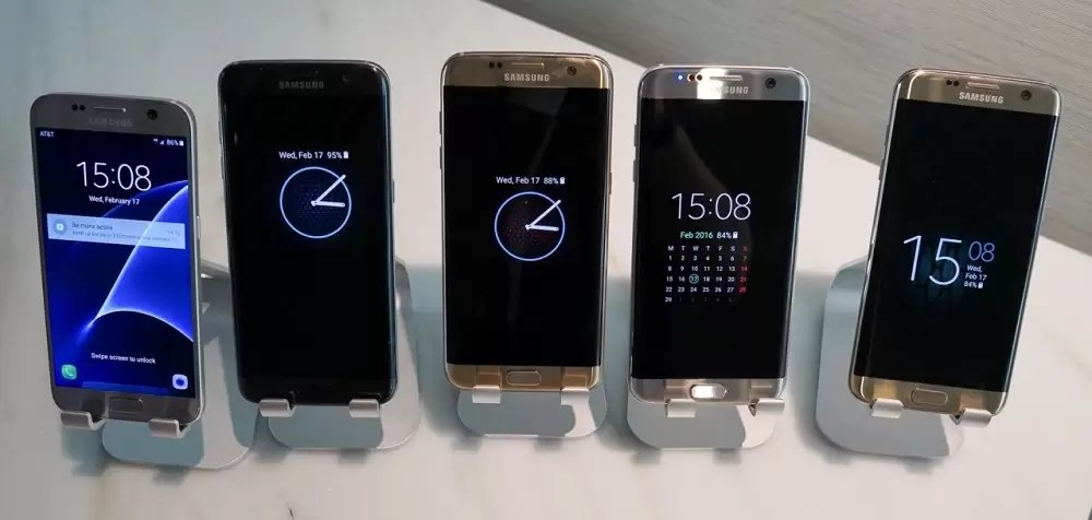 Always on Display Artık Galaxy S6 ve Note 5'de