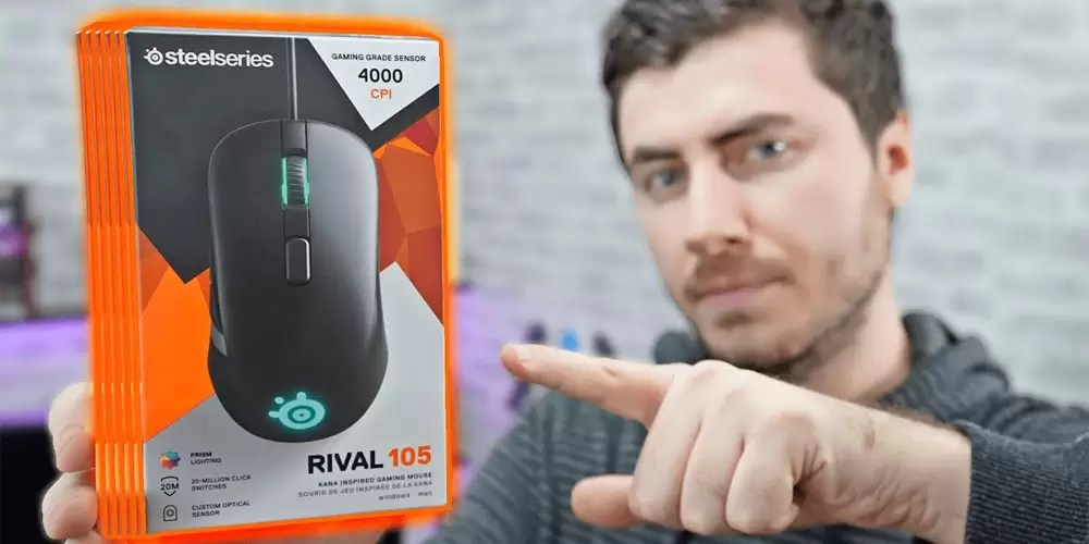 SteelSeries Rival 105 Mouse İncelemesi