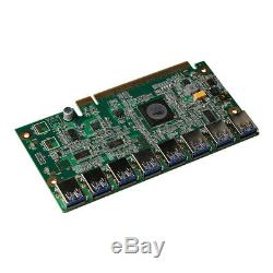Speed Bridge Pcie Turn 8x Usb3.0 Mining Adapter Pci-e To 8 Usb3.0 Expansion Card
