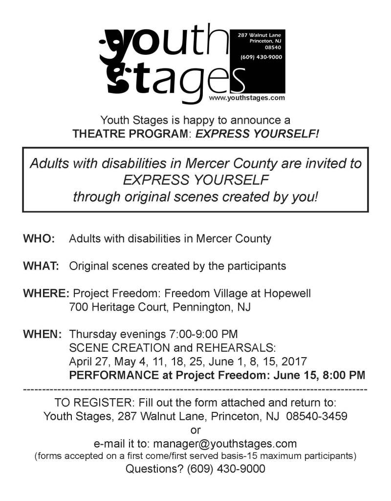 Progress Center For Independent Living Youth Stages Theatre Program
