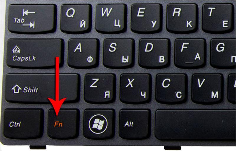 Fn-knappen fungerar inte på en bärbar dator