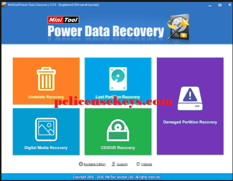 MiniTool Power Data Recovery 9.1 Crack With Keygen Free Download
