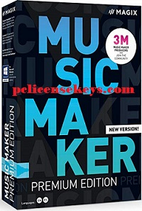 Magix Music Maker 2021 Crack With License Key Free Download