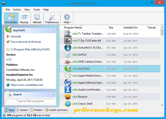 Uninstall Tool 3.5.10 Crack With Serial Key 2021 Full Free Download