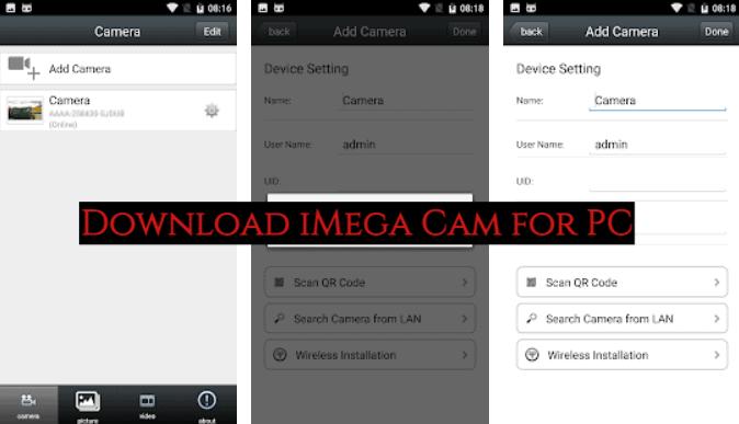iMega Cam for PC Download
