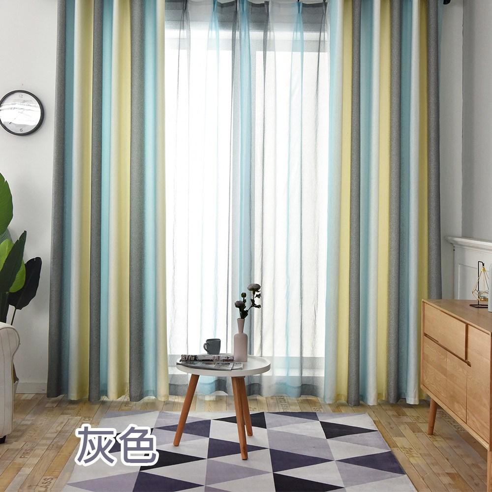 【三房兩廳】福爾摩沙抗UV遮光窗簾200x165cm/1窗是2片組合福爾摩沙灰色|窗簾|特力家購物網