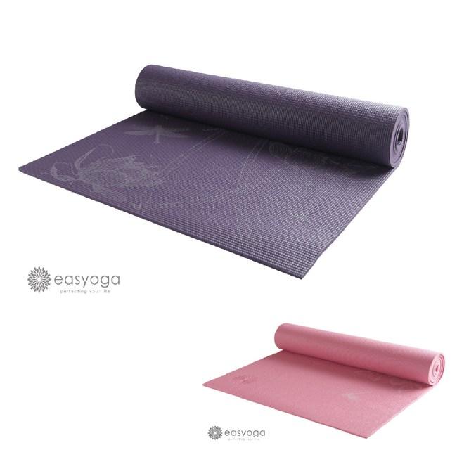 easyoga專業中國風瑜珈墊 粉色|運動休閒|特力家購物網