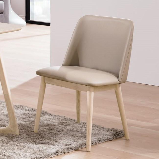 帕特洗白淺咖啡皮餐椅 椅丨電腦椅 特力家購物網