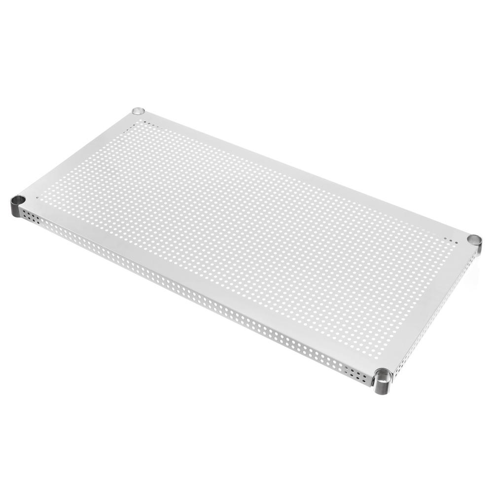 特力屋 新型沖孔烤漆鐵網 白色 90x46cm|烤漆丨金屬層架|特力家購物網