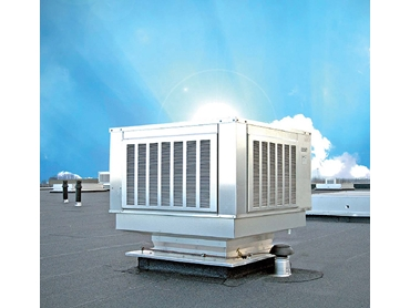 Industrial Evaporative Cooling and Natural Ventilation by