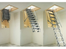 Access Roofs Easily With Retractable Scissor Stairs From