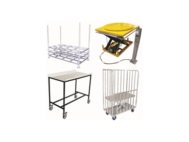Comprehensive trolley and equipment range available from