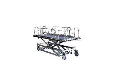 Rapini releases mortuary lifter and concealment trolleys
