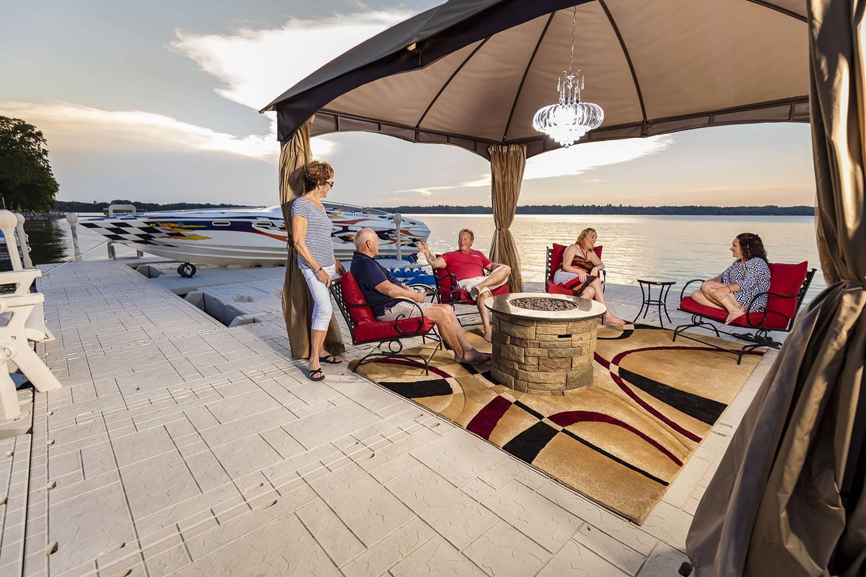 Wave Armor Dock Canopy