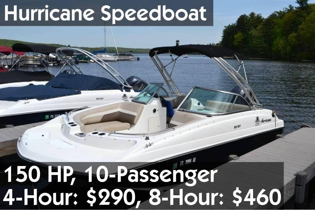 Hurricane Speedboat