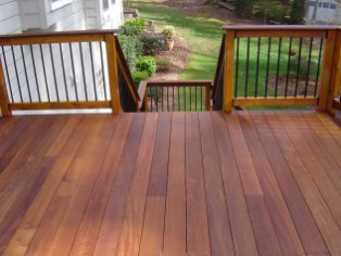 Deck and handrail build