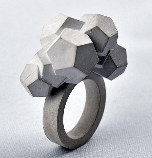 Concrete trend Jewellery