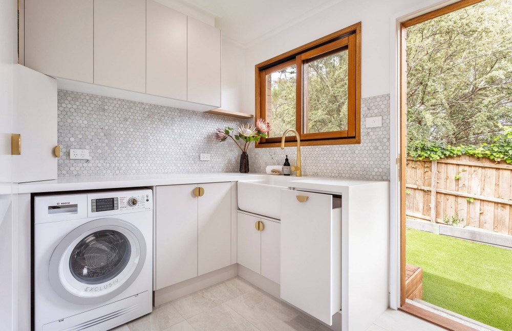 flooring and tiles laundry renovation